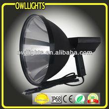 12V 300mm 75W HID High Quality Handheld Working Light/Lamp HID Xenon Handel Searching Light HID Handheld Hunting Spot light