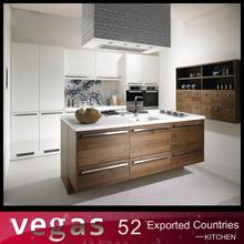 European standard foshan brand wooden kitchen cabinet