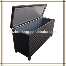 rattan cushion storage box/ cushion box