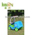 الاطفال لعبة قيادة السيارة/ الأزرق في الهواء الطلق الأطفال سيارة دورية