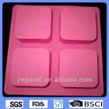 Kare silikon kalıp, silikon puding kalıp, silikon sabun kalıbı