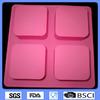 Square Silicone mould,silicone pudding mould,silicone soap mould