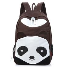 2014 panda child school bag guangzhou manufacturer