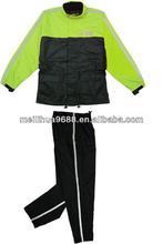2015 New Design Factory Price Waterproof ARONXU Motorcycle Raincoat