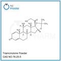 Intermedio farmacéutico triamcinolona amoniocas. 76-25-5/acetato de triamcinolona acetónido/china fabricante triamcinolona en polvo