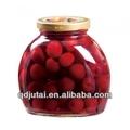 off venda de cereja em conserva em calda de frutas enlatadas