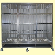 Stainless Steel Dog Cage,Dog Crate with wheel SDG05-D