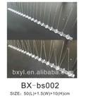BX-bs002 pest control stainless steel bird spikes