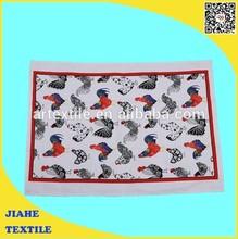 Factory direct 100% cotton custom print tea towel