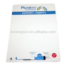 customized give away magnetic portable whiteboard