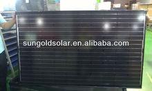 free anti-dumping tax black frame solar panel for EU countries
