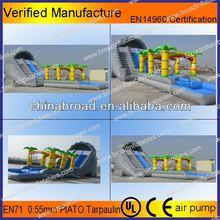 Durable swimming pool slide,octopus inflatable slides