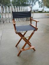 Wood folding director chair