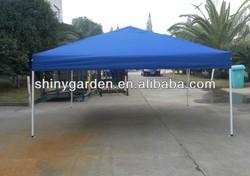 Outdoor metal waterproof gazebo canopy with seam tape on fabric