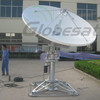 2.4m motorized ku band uplink antenna