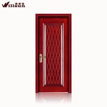 Embossing pattern steel security door made in Foshan