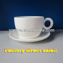 250ml ceramic coffee cup with saucer porcelain ceramic cup