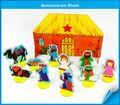 caixa de papel de natal berços de jogos para crianças