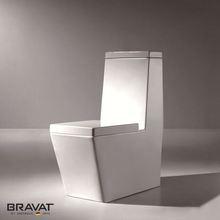 top button flush toilet P/S-Trap Siphon Flushing