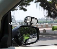 Outside Rear View Mirror 360 Degree Wide glass blind spot mirror