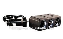 PZ-364 Triple Car Socket (Cable included) cigarette lighter / 12v car socket / cigarette lighter socket