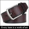 Fashion men genuine leather belt SZ-MS241