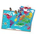 2014 hot marke neues für kinder weltkarte puzzle kreative magnetischen learning pädagogisches spielzeug weltkarte