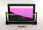 Colourful flowing sand art pictures,frame soothing sand
