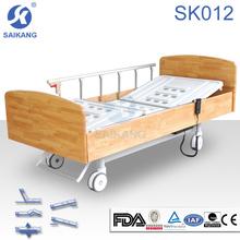 SK012 Homecare Wooden Electric Hospital Furniture Bed, Home Hospital Bed Dimensions