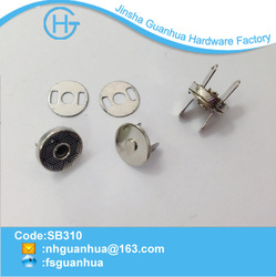 2014 10mm small button thin magnetic button button luggage