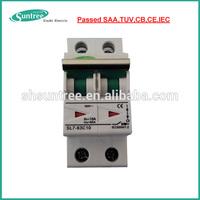 Electric DC MCB 1~63A 1P~4P