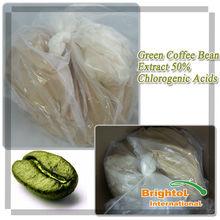 Экстракт зеленого кофе в 50% хлорогеновая кислота