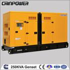 250KW Cummins Slient Diesel Generator Set 60HZ 1800RPM/MIN, 380/400/415/440V 3PH