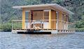 De lujo casa flotante para el río o lago