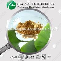 Organic Dried Ginkgo Biloba Leaves Extract Powder In Bulk