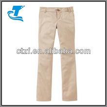 2015 Girls Uniform Skinny Khakis Pants