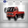 Amplamente mini-usado caminhão 10t 4x2 6 luz pneus de caminhão de carga