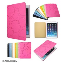 Kaku professional smart pu leather book case for ipad air 5 for hot selling
