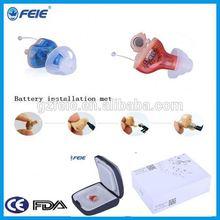 Built-in Tinnitus Masker Mini Soft Shell Feie CIC Digital Hearing Aid S-17A