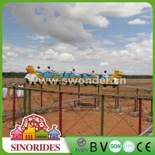 mini roller coaster/ glide electric train slide dragon for sale