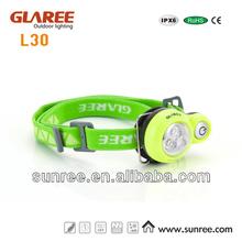 3 leds powerful lumens led head lamp/led headlight