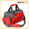 red outdoor sports portable travel duffel bags, small travel bag