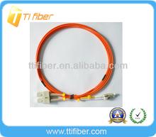 Singlemode SC LC UPC Duplex Fiber Patch Cord