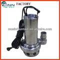 alta pressão em aço inoxidável submersível fonte de água bomba preço