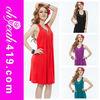 2014 Latest sexy fashion wholesale full colors women korean summer dress