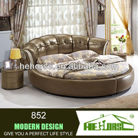 italy leather round bed on sale round bed frame prices 852#