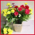 pretty moda plástico artificial buquê de flores