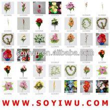 WHOLESALE ARTIFICIAL HYDRANGEA FLOWERS BUSH Wholesaler from Yiwu Market for Artificial Flower & Bines