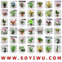 HYDRANGEA BUSH ARTIFICIAL FLOWER Wholesaler from Yiwu Market for Artificial Flower & Bines