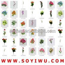 DESCRIPTION ROSE FLOWER Wholesaler from Yiwu Market for Artificial Flower & Bines